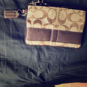 Coach Wristlet- Never Been Used